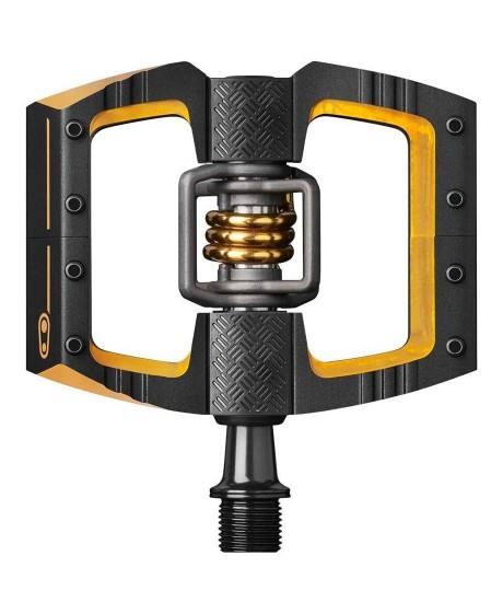 Pedale Crankbrothers Mallet DH 11 Black/Gold