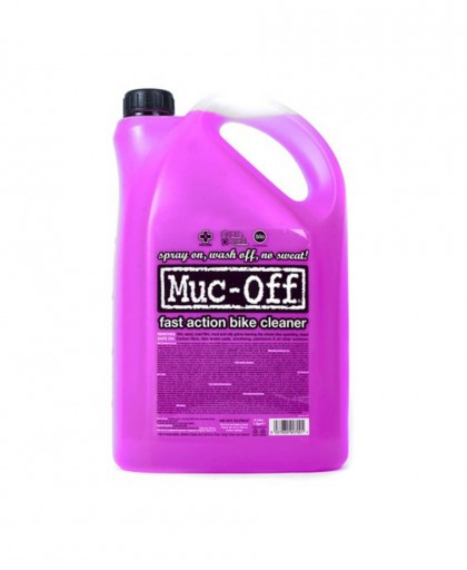 DETERGENTE MUC-OFF CYCLE CLEANER 5 LITRI