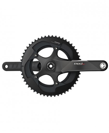 GUARNITURA SRAM RED22 Exogram BB30 Black 52-36 cuscinetti non inclusi