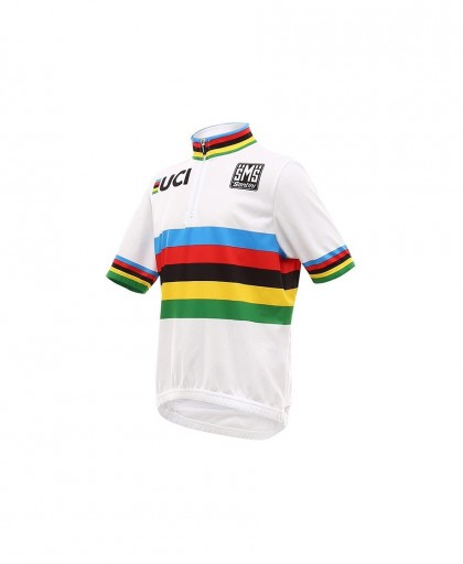 MAGLIA SANTINI UCI WORLD CHAMPION KIDS