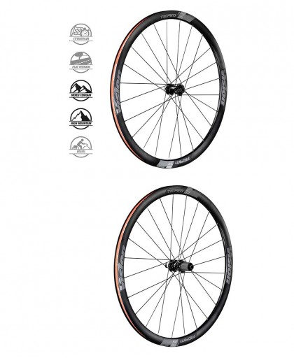 RUOTE VISION TEAM 35 DISC DB-CL  TUBELESS READY