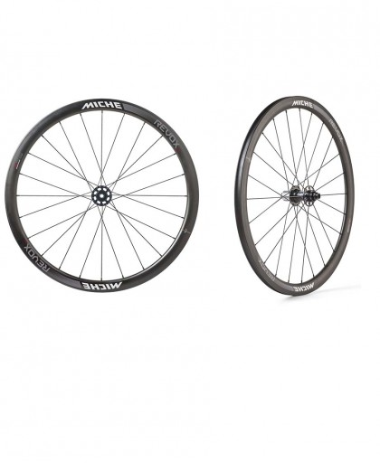RUOTE MICHE REVOX CARBON 38+38MM 10-11V DISC