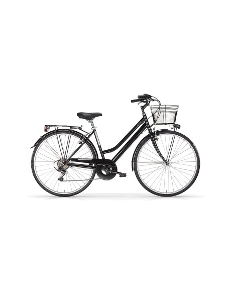 CITY BIKE MBM TOURING 28'' - ACCIAIO - 6V DONNA